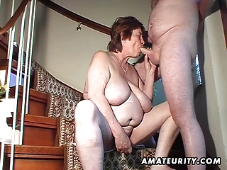 chubby dilettante wife toys and sucks and