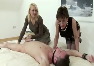 see femdom brits dominate loser