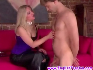 femdom english d like to fuck scratching sub with